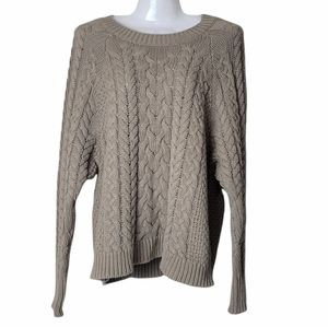 Aerie Cable Knit Sweater S